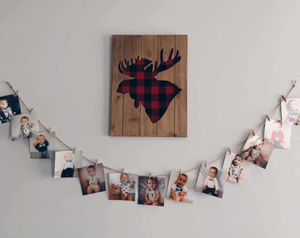 to hang photos