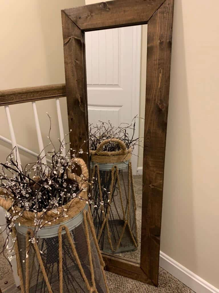 finished mirror