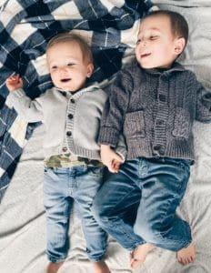 boys in sweaters