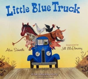 Children's book Little Blue Truck