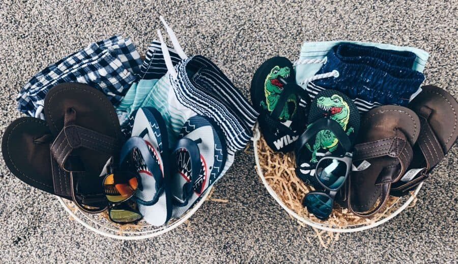 Easter baskets for boys
