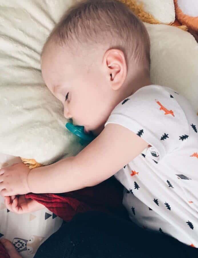 Emmitt sleeping