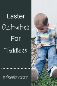 Easter activities for toddlers pin