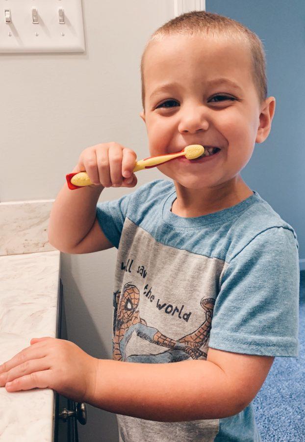 Brushing Teeth fun for toddlers
