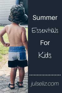 Summer Essentials Pin